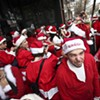 Monday Morning Hangover: Drunk Santas, Lusty Ladies and Not So Silent Night