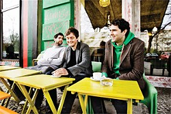 Monogamist-oriented rock: Keane at tea time.