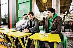 Monogamist-oriented rock: Keane at tea time.