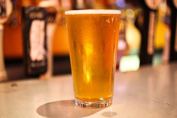 Moonlight Brewing's Reality Czeck Pilsner, $4 at Toronado. - KEVIN HENDERSON/SFOODIE