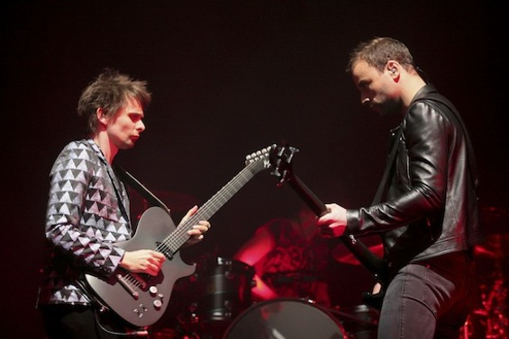 Muse at Oracle Arena last night. - ALL PHOTOS BY CHRISTOPHER VICTORIO