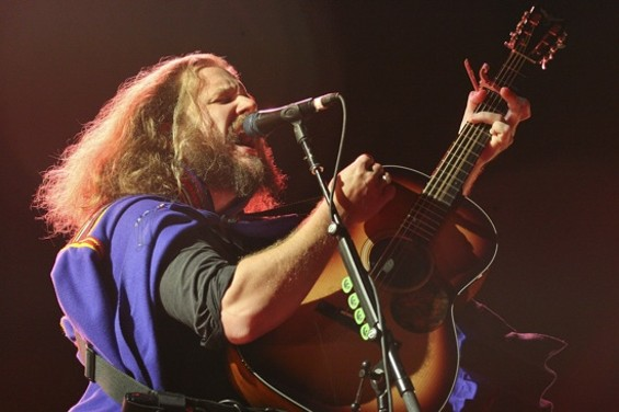 My Morning Jacket at the Greek Theatre on Saturday. - CHRISTOPHER VICTORIO