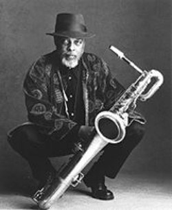 My, What a Big Sax You Have: Hamiet Bluiett and his - instrument.