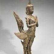 Mythical bird-man, approx. 1775-1850. Central Thailand - COURTESY OF ASIAN ART MUSEUM,