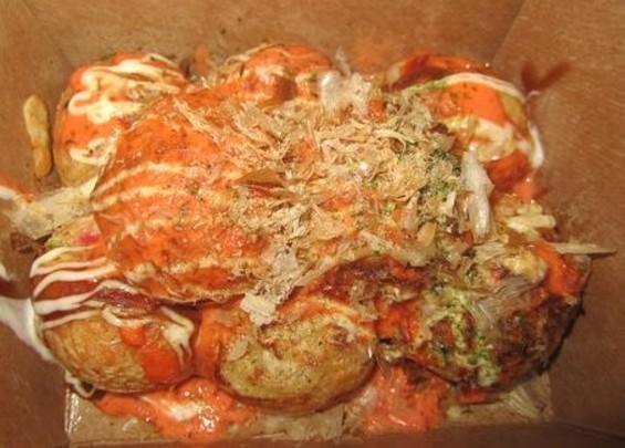 Na Ya's takoyaki, $5. - YOK. K.