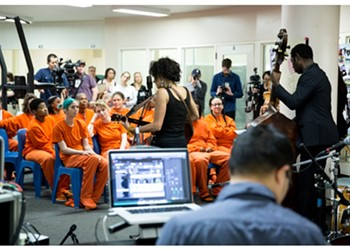 Naima Shalhoub Records Debut Album Before an Audience of Incarcerated Mothers at County Jail
