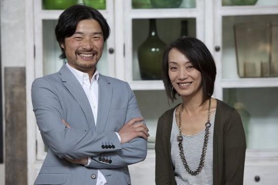 Naivetea's owners, Lawrence Lai and Ann Lee. - NAIVETEA
