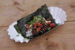 Namu's Korean tacos: Ready for reggae and hip-hop. - DOUG ZIMMERMAN