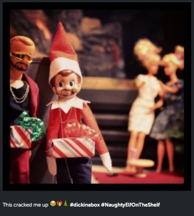 Naughty Or Nice Elf On The Shelf Gets Naughty The