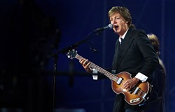 MIKE KOOZMIN - Nearly 50 years later, Sir Paul McCartney's still got it.