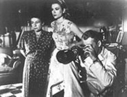 Nearly Perfect: Thelma Ritter, Grace Kelly, and James Stewart in Rear Window.
