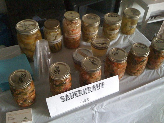 Nearly three dozen mostly food vendors will offer homemade wares. - JEFF TIDWELL/FLICKR