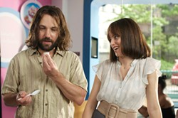 Ned (Paul Rudd) is a patent device to teach everyone around him how to become Better People.