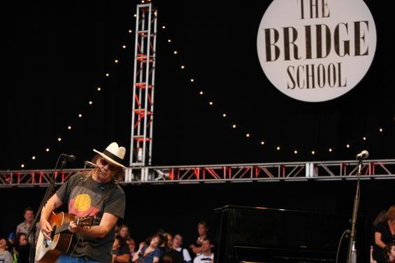 Neil Young at Bridge School