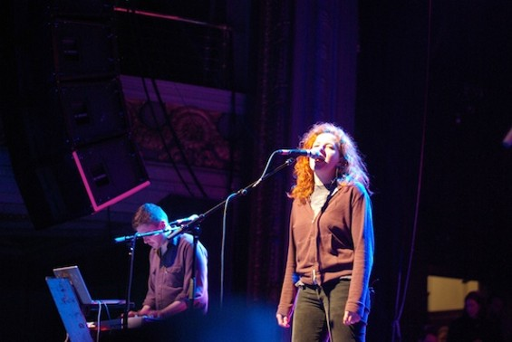 Neko Case, dressed up for the occasion