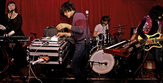 Neon Indian sending out those chill waves live.