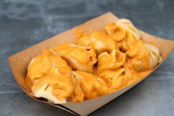 Nepalese style dumplings: Momos - LOU BUSTAMANTE