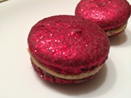 The glitter is edible. - PETE KANE