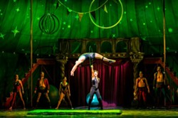 The cast of the national tour of Pippin. - TERRY SHAPIRO