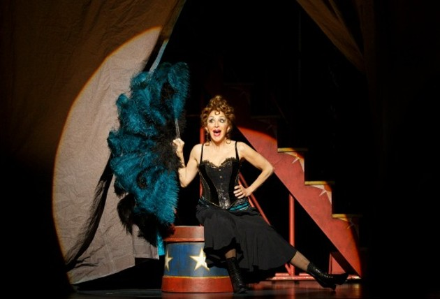 Andrea Martin performs as Berthe in Pippin. - JOAN MARCUS