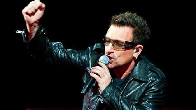 BONO (WHILE NOT WEARING A RELIGIOUS DISGUISE)