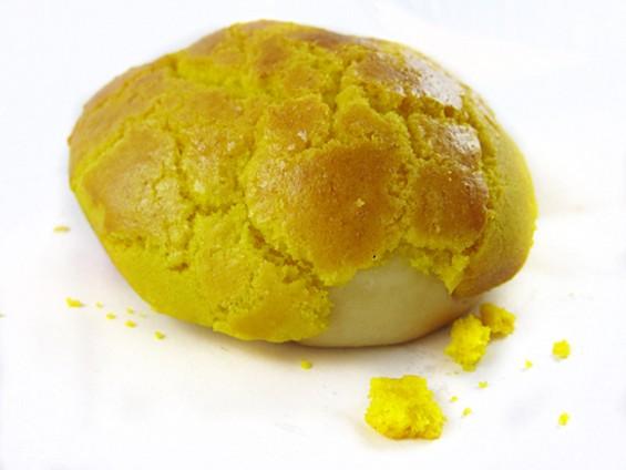 New Hollywood Bakery's pineapple bun: Eat when warm. - ANDREW NILSEN