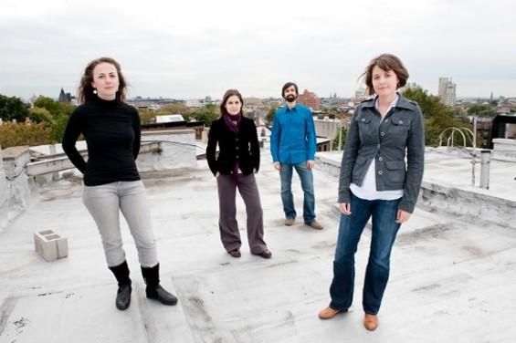 New music ensemble REDSHIFT - EVAN SUNG