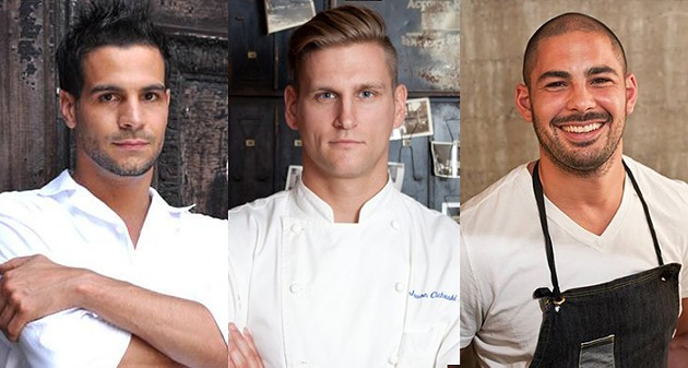 Top Chef alumni Angelo Sosa, Jason Cichonski, and Louis Maldonado have all signed on to compete. - COURTESY OF RIVAL