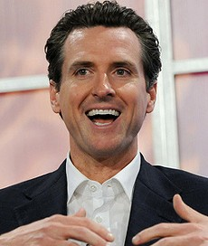 Newsom's favorite is green -- and no, it isn't a Shamrock Shake. - JDLASICA/FLICKR
