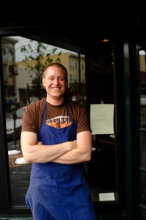 Nick Balla, now of Bar Tartine. - CHAD ROBERTSON