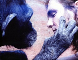 Nim Chimpsky and Bob Ingersoll go ape together.