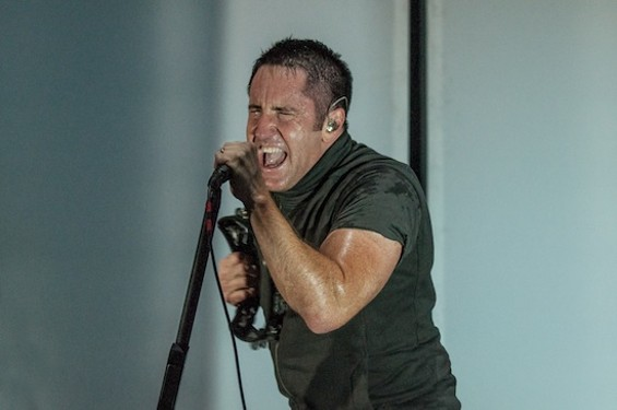 Nine Inch Nails at Outside Lands on Saturday - SUGARWOLF