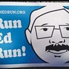 Run, Ed, Run Campaign Is Being Financed by Nine Donors
