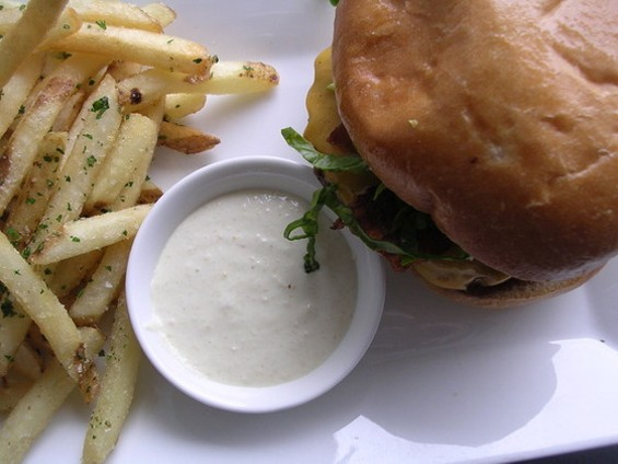 No. 34, the burger at Marlowe. - JOHN BIRDSALL