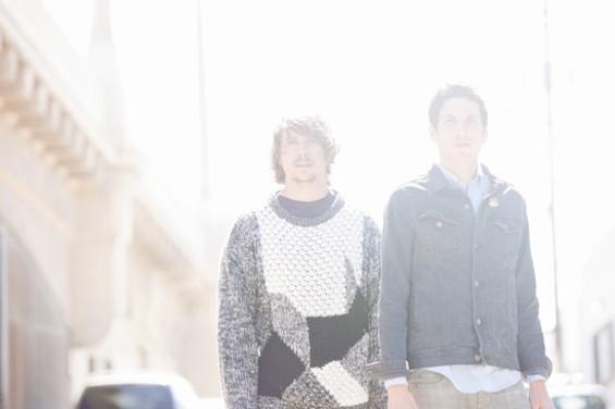 No Age is guitarist Randy Randall (left) and drummer Dean Allen Spunt