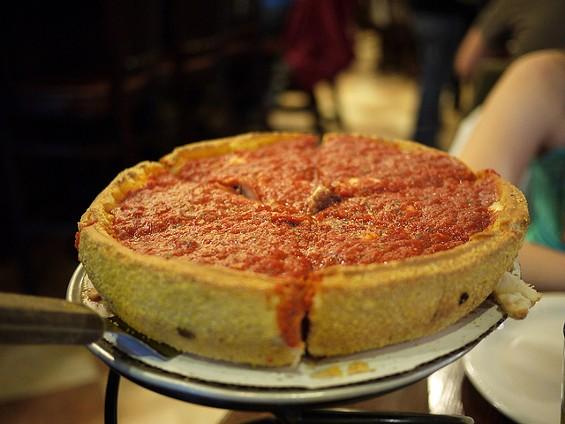 No cheese on Saturday at Patxi's. - FLICKR/BUBBLETEA