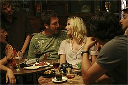 VICTOR BELLO/TWC 2008 - No country for dirty old men: Bardem and Johansson.