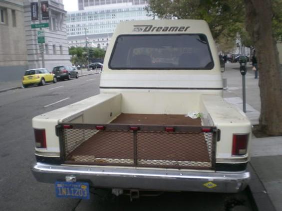 No, it's a truck... - JOE ESKENAZI