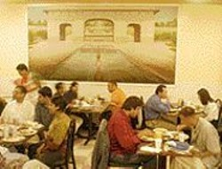 ANTHONY  PIDGEON - No Taj Mahal: Shalimar isn't as - glamorous - as the palaces on its walls, but it - offers - some of the best Indian (and - Pakistani) food - we've ever tasted.
