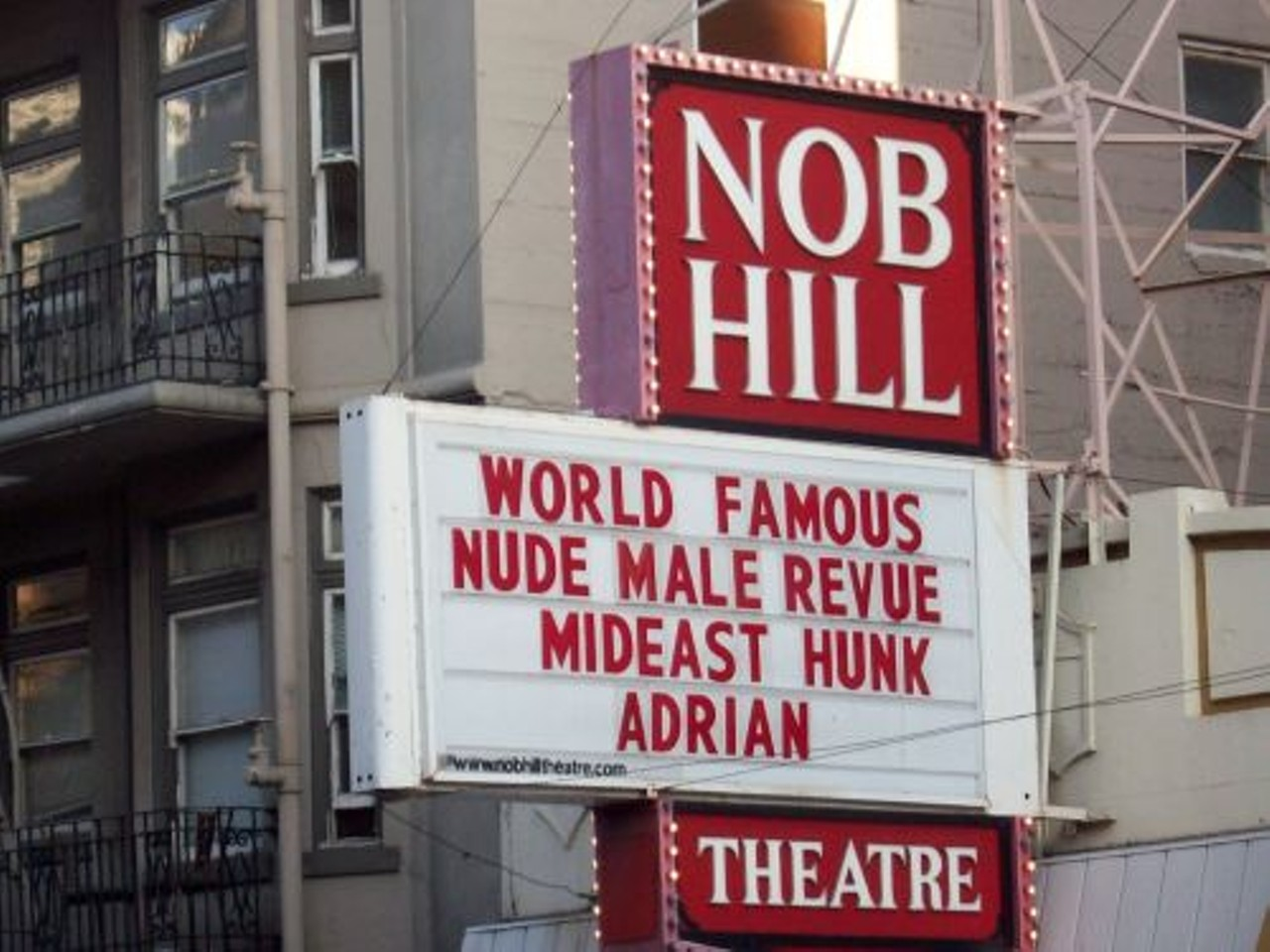 nob hill theatre hours