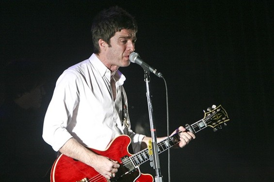 Noel Gallagher performing in S.F. - CHRISTOPHER VICTORIO