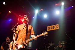 NOFX kept it crazy at the Fillmore.