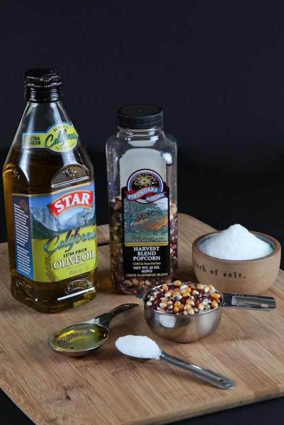 Non-spooky ingredients. - A.J. BATES