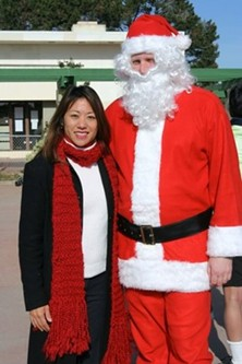 Not even Santa can stop Fiona Ma from pooping all over your party
