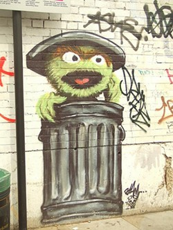 Not everything that goes in the trash can is trash. Ask someone who knows...