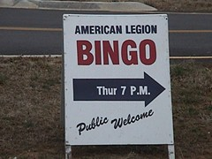 Not so fast, Gramps! This ain't Guadalcanal, it's bingo -- there are rules.