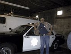 Not wanted in Calaveras County: Retired SFPD officer Ken Cantamout.