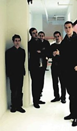 Note to the Walkmen: Wearing all black is - not going to help distance you from the - high-fashion rock scene.