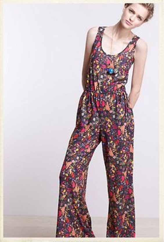 November Test Sheet Jumpsuit, $148 at Anthropologie