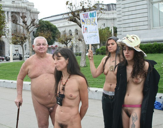 Being Naked In Public 6